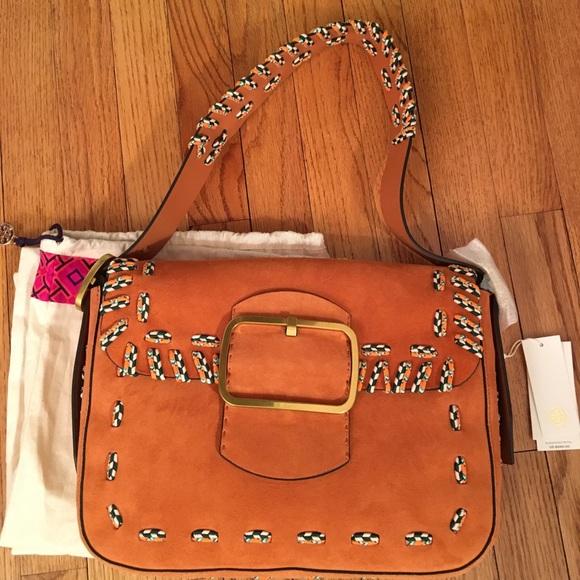 86ef0f352c76 NWT Tory Burch Authentic Sawyer Bag